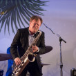 Igor Butman and saxophone — Stock Photo #38594823