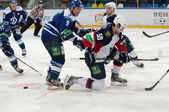 Andrej Stastny (59) on knees — Stockfoto
