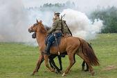 Paseo de los soldados de caballería — Foto de Stock