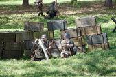 German soldiers — Stock Photo