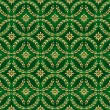Decorative ornamental seamless pattern - vector background — Vector de stock
