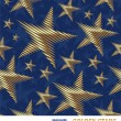 Royalty-Free Stock Vector Image: Seamless vector pattern with golden stars