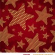 Royalty-Free Stock Vector Image: Vector seamless pattern with golden stars