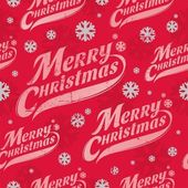 Seamless vector background - Christmas wrapping paper — Stock Vector