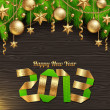 Happy 2013 new year - Stock Vector