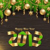 Happy 2013 new year — Stock Vector