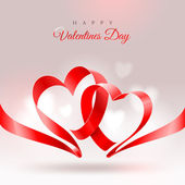 Valentines Day greeting card — Stock Vector