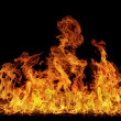 Isolated flame - Stock Photo