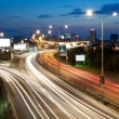 Highway in city at night — Stock Photo #29880013