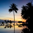 Sunraise at Thailand paradise — Stock Photo