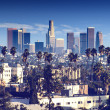 Los Angeles - California City Skyline — Стоковое фото