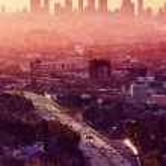 Los Angeles - California City Skyline — Stock Photo #39527867