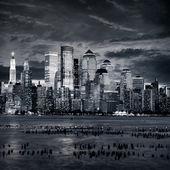 NewYork manhattan at sunset - New York City — Stock Photo