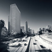 Los Angeles downtown at day — Stock Photo