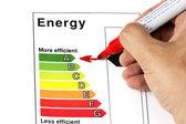 Energie-efficiëntie — Stockfoto