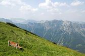 オーストリアのアルプスの山の風景 — ストック写真
