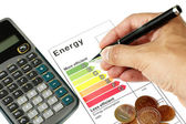 Energy efficiency — Stock Photo