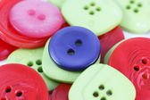 Collection of buttons — Stock Photo