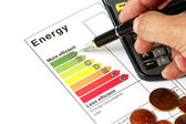 Energy efficiency — Stockfoto