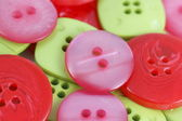 Collection of bright buttons — Stock Photo