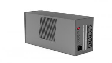 Uninterruptible power supply — Stock Video