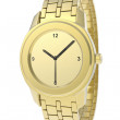 Gold watch — Stockfoto