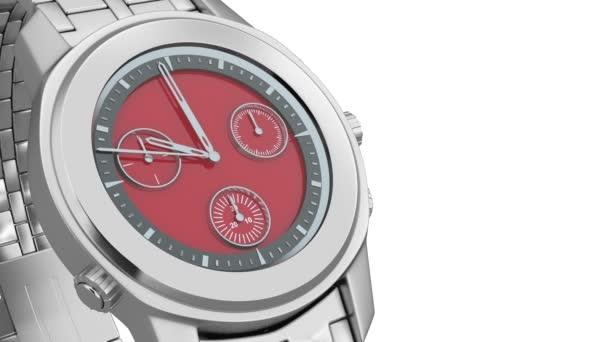 Montre de poignet chronographe luxe — Vidéo