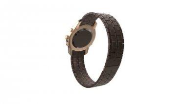Ceramic watch — Stock Video