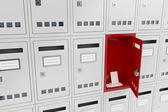 Open mailbox — Stock Photo