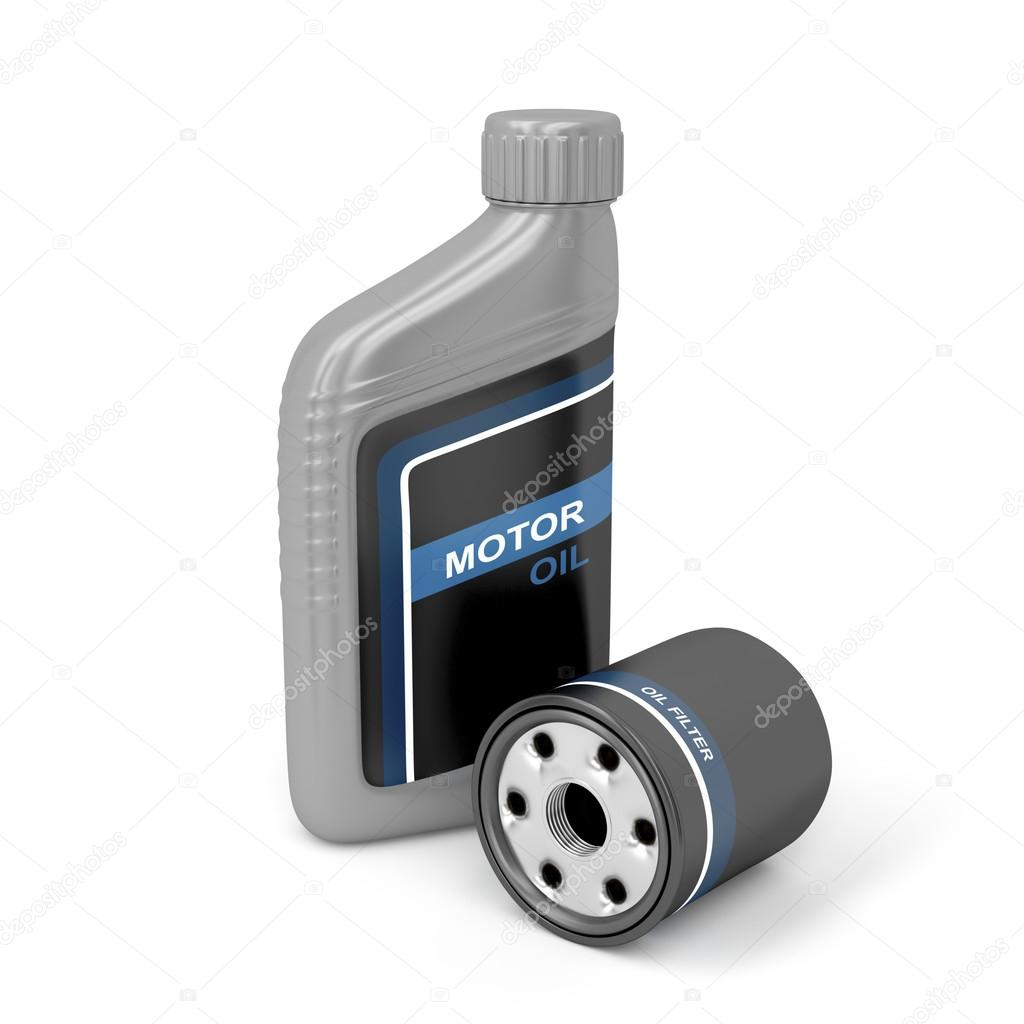 Motor Oil And Oil Filter Stock Photo Magraphics 31568667