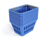 Shopping baskets — Stock Photo