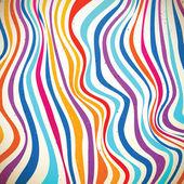 Kleurrijke gestreepte achtergrond — Stockvector
