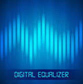 Digital Equalizer — Stockvector