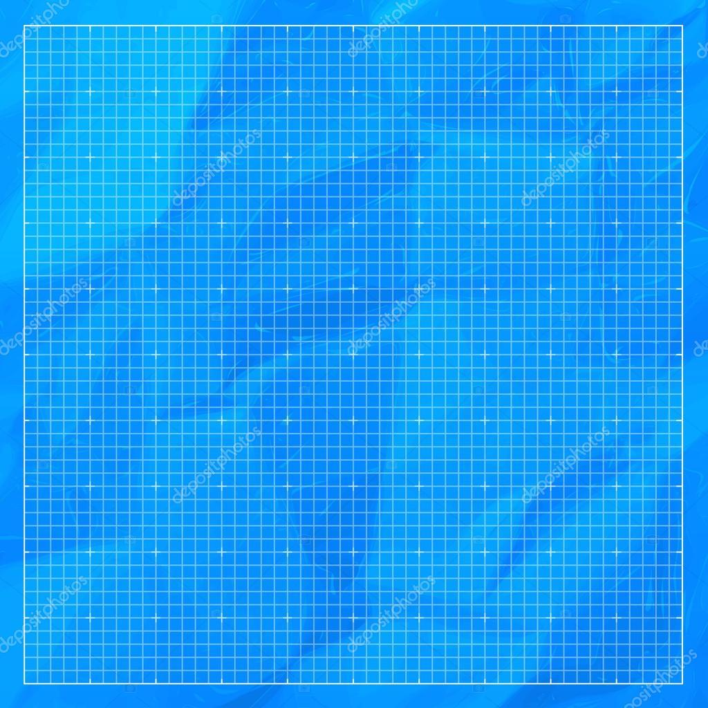 Blueprint Background Texture Stock Vector Jakegfx
