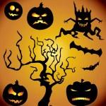 Halloween collection — Stock Vector #1858185