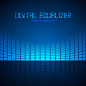Digital Equalizer — Stock Vector