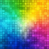 Arcobaleno colore astratto per la grafica aziendale — Vettoriale Stock