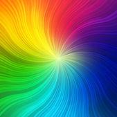 Rainbow concept background — Stock Vector