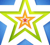 Star applique background — Stockvektor
