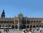 Cloth Hall in Rynok Square (Krakow, Poland) — Stock Photo
