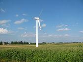 Wind-driven generator — Stock Photo