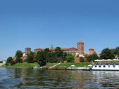 Panorama of Wawel in Krakow (Poland) — 图库照片