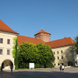 Stock Photo: Old buildings in Wawel (Krakow, Poland)
