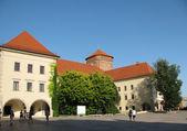 Old buildings in Wawel (Krakow, Poland) — Stock Photo