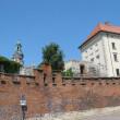 Fortress wall Vavel (Krakow, Poland) — Stock Photo #30064911
