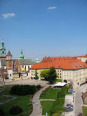 Panorama of Wawel Cathedral in Krakow (Poland) — Stockfoto