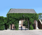 Entrance in in Wawel (Krakow, Poland) — Stockfoto