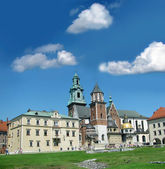 Wawel Cathedral in Krakow (Poland) — Stock fotografie