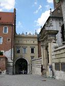 Street in old town (Krakow, Poland) — Stock Photo