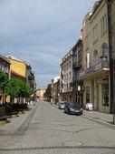 Street in Przemysl (Poland) — Stock fotografie